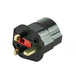 Plug Adapter: EU to UK