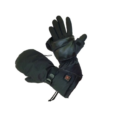 not just a mitten, but also has an integrated glove!