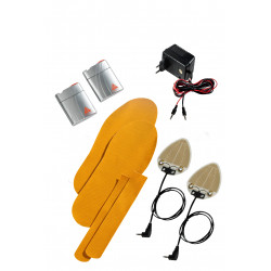 ALPENHEAT Podgrzewane wkładki do butów COMFORT: Custom OL