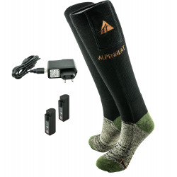 ALPENHEAT Calcetines Calentados FIRE-SOCKS Lana