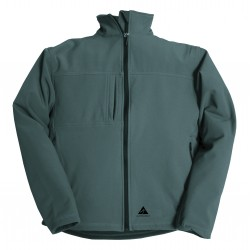 ALPENHEAT Heated Jacket FIRE-SOFTSHELL Dark Grey