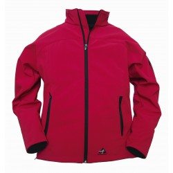 ALPENHEAT Heated Jacket FIRE-SOFTSHELL Red