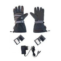 ALPENHEAT Gaunts Chauffants FIRE-GLOVE: noir/gris