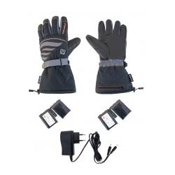 ALPENHEAT mănuși încălzite FIRE-GLOVE: negru/gri