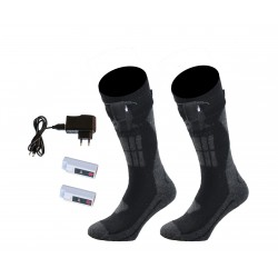 ALPENHEAT Heated Socks FIRE-SOCK 1 pair/wool: damaged box