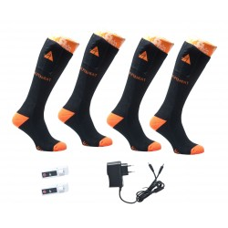 ALPENHEAT Heated Socks FIRE-SOCKS Cotton 2 Pairs