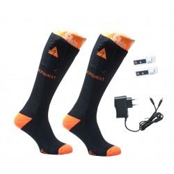 ALPENHEAT Heated Socks FIRE-SOCKS Cotton 1 Pair