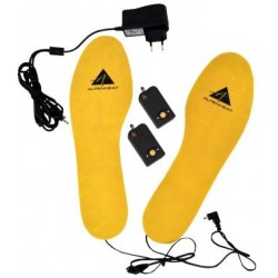 Lithium Standard: heating element embedded in toe area, fit in any boot or shoe