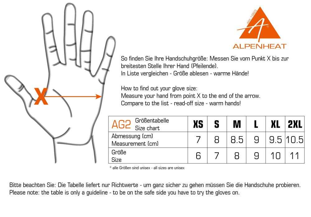 bester Verkauf exquisite handwerkskunst große Vielfalt Stile AG2 Beheizte Handschuhe FIRE-GLOVE